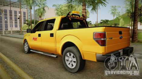 Ford F150 2010 для GTA San Andreas вид слева