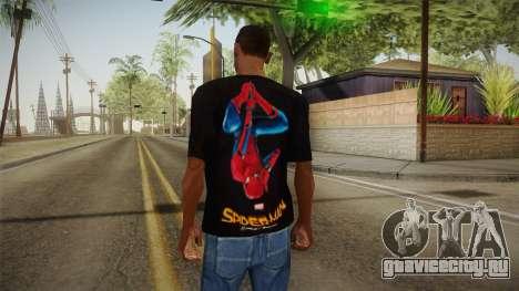 Spider-Man Homecoming T-Shirt для GTA San Andreas второй скриншот