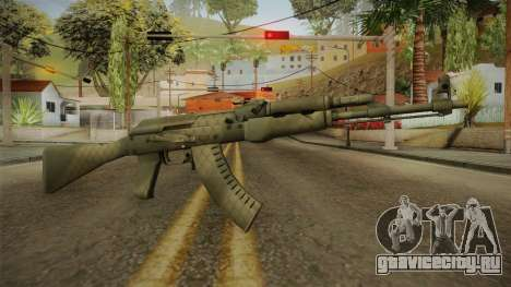 CS: GO AK-47 Safari Mesh Skin для GTA San Andreas