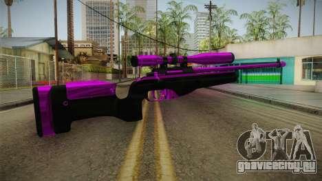 Purple Sniper Rifle для GTA San Andreas второй скриншот