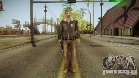Rick TWD Comic Skin для GTA San Andreas второй скриншот