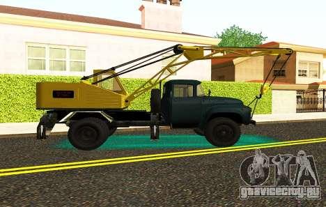 ЗиЛ 130 К25 для GTA San Andreas вид сзади