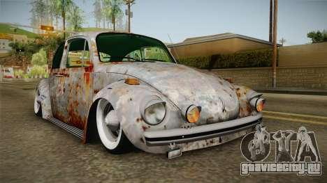 Volkswagen Beetle Rusty для GTA San Andreas