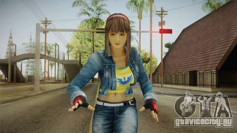 Hitomi Casual Skin для GTA San Andreas