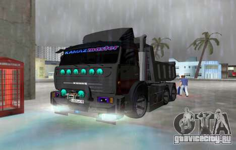 КАМАЗ 65115 BLACK NIGHT для GTA Vice City
