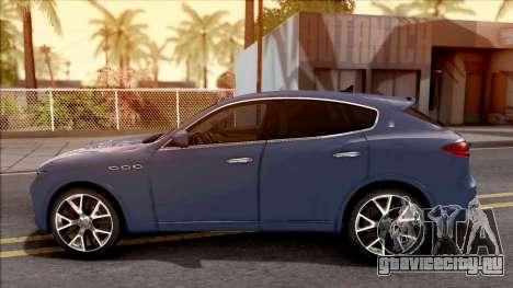 Maserati Levante 2017 для GTA San Andreas вид слева