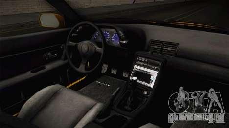 Nissan Skyline R32 Pickup для GTA San Andreas вид изнутри