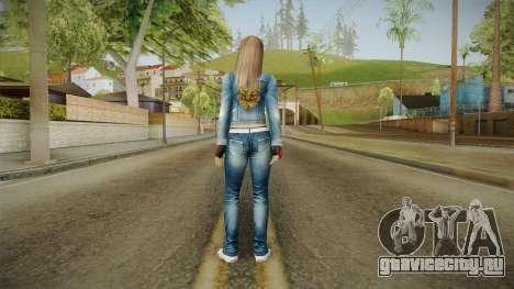 Hitomi Casual Skin для GTA San Andreas третий скриншот