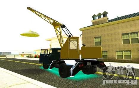 ЗиЛ 130 К25 для GTA San Andreas вид справа