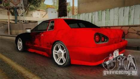 New Elegy Paintjob v1 для GTA San Andreas вид слева