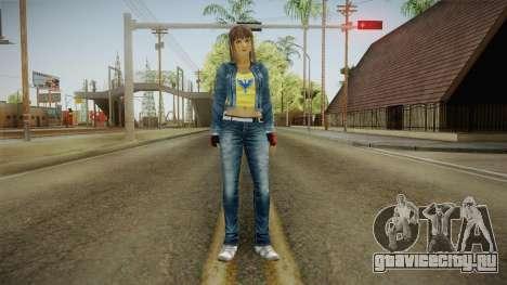Hitomi Casual Skin для GTA San Andreas второй скриншот