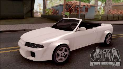 Nissan Skyline R33 Cabrio Tuned для GTA San Andreas