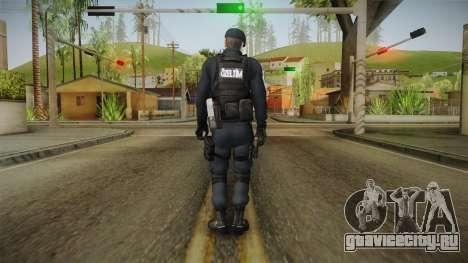 Turkish Police-Rapid Response Unit Member для GTA San Andreas