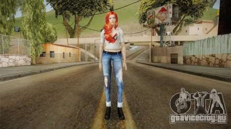 Mary Jane Skin для GTA San Andreas второй скриншот