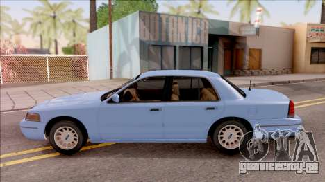 Ford Crown Victoria 2003 для GTA San Andreas вид слева