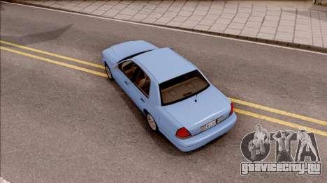 Ford Crown Victoria 2003 для GTA San Andreas вид сзади