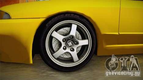 Nissan Skyline R32 Pickup для GTA San Andreas вид сзади