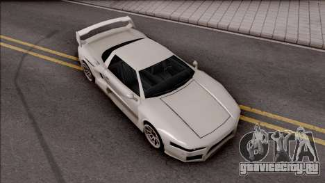 BlueRay Infernus V910 для GTA San Andreas вид справа