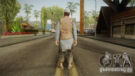 Medal Of Honor 2010 Taliban Skin v8 для GTA San Andreas третий скриншот