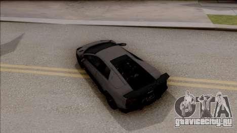 Lamborghini Murcielago LP670-4 SV для GTA San Andreas вид сзади