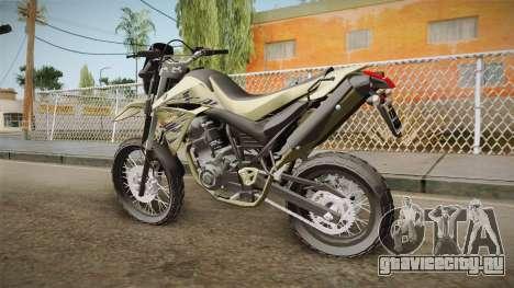 Yamaha XT660 для GTA San Andreas вид слева