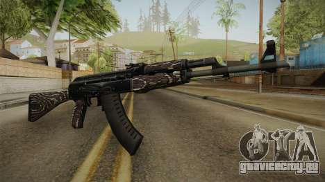 CS: GO AK-47 Black Laminate Skin для GTA San Andreas