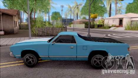 Sabre La Destino Turbo для GTA San Andreas вид слева