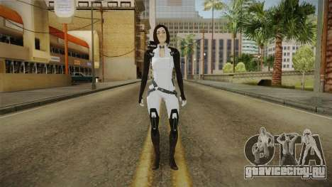 Mass Effect 3 Miranda Short Hair для GTA San Andreas второй скриншот