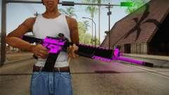 Purple M4A1