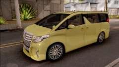 Toyota Alphard 2.5 G 2015