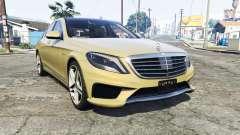 Mercedes-Benz S63 yellow brake caliper [replace]