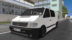 Mercedes Vito для GTA San Andreas