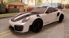 Porsche 911 GT2 RS Weissach Package SA Plate