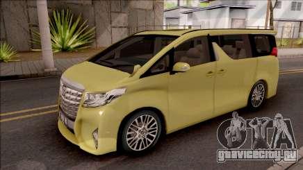 Toyota Alphard 2.5 G 2015 для GTA San Andreas