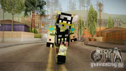 Minecraft Swat Skin для GTA San Andreas