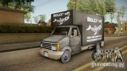GTA SA DLC - Triad Fish Van для GTA San Andreas
