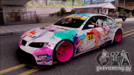 BMW M3 GT2 Miku GSR для GTA San Andreas