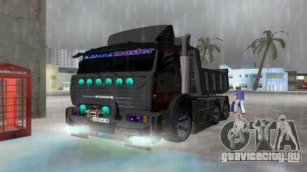 КАМАЗ 65115 BLACK NIGHT для GTA Vice City