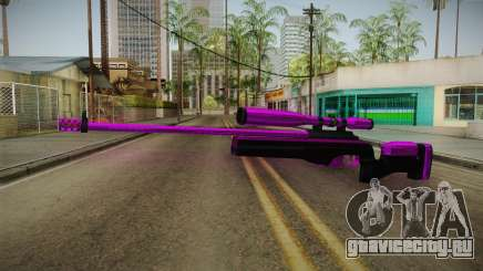 Purple Sniper Rifle для GTA San Andreas