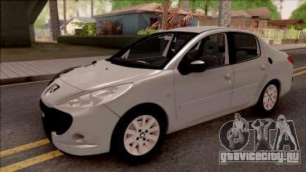 Peugeot 207 Passion для GTA San Andreas