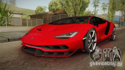 Lamborghini Centenario LP770-4 v2 для GTA San Andreas