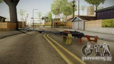 PKM Light Machine Gun для GTA San Andreas