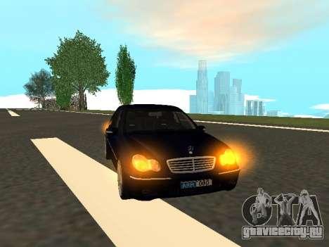 Mercedes-Benz C180 Armenian для GTA San Andreas вид сзади