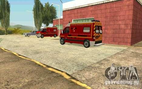 Оживление деревни Форт Карсон для GTA San Andreas третий скриншот