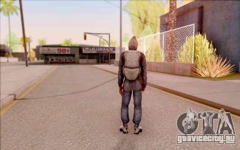 Дегтярёв в бандитской куртке из S.T.A.L.K.E.R. для GTA San Andreas четвёртый скриншот
