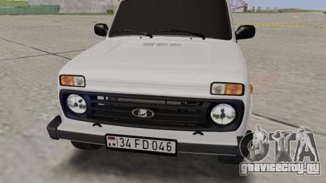 Niva Dorjar 34 FD 046 для GTA San Andreas вид справа