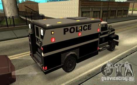 Enforcer под ELM для GTA San Andreas вид слева