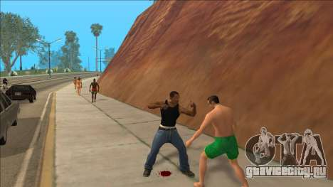 New Animations v4 Rapper Style Update для GTA San Andreas