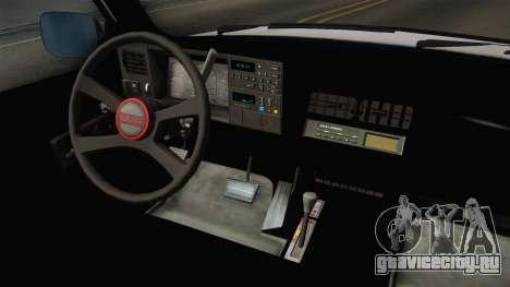GMC Sierra 1500 1988 для GTA San Andreas вид изнутри