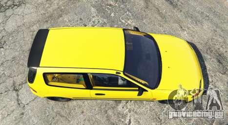 Honda Civic SIR (EG6) [add-on] для GTA 5 вид сзади